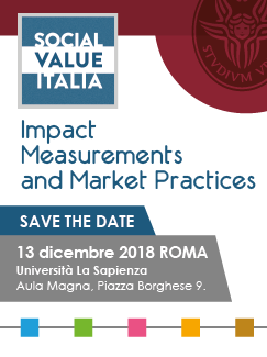 "Workshop ""Impact Measurements and Market Practices"" – Roma, 13 dicembre"