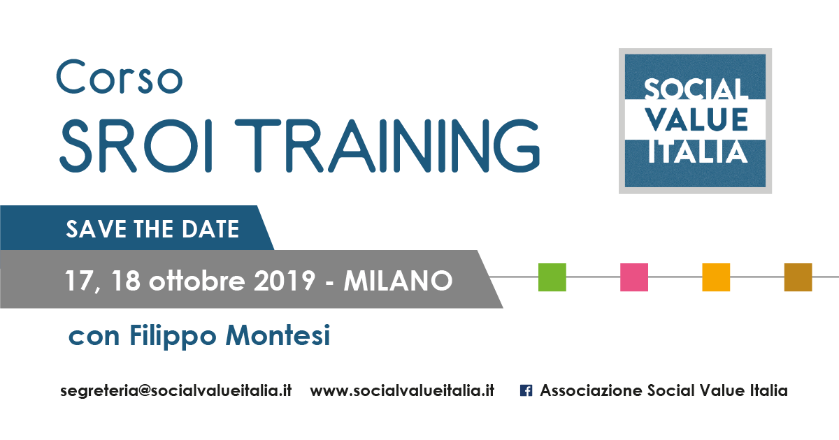 Corso SROI Practitioner Training