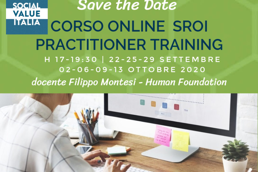 SROI Practitioner Training – corso online