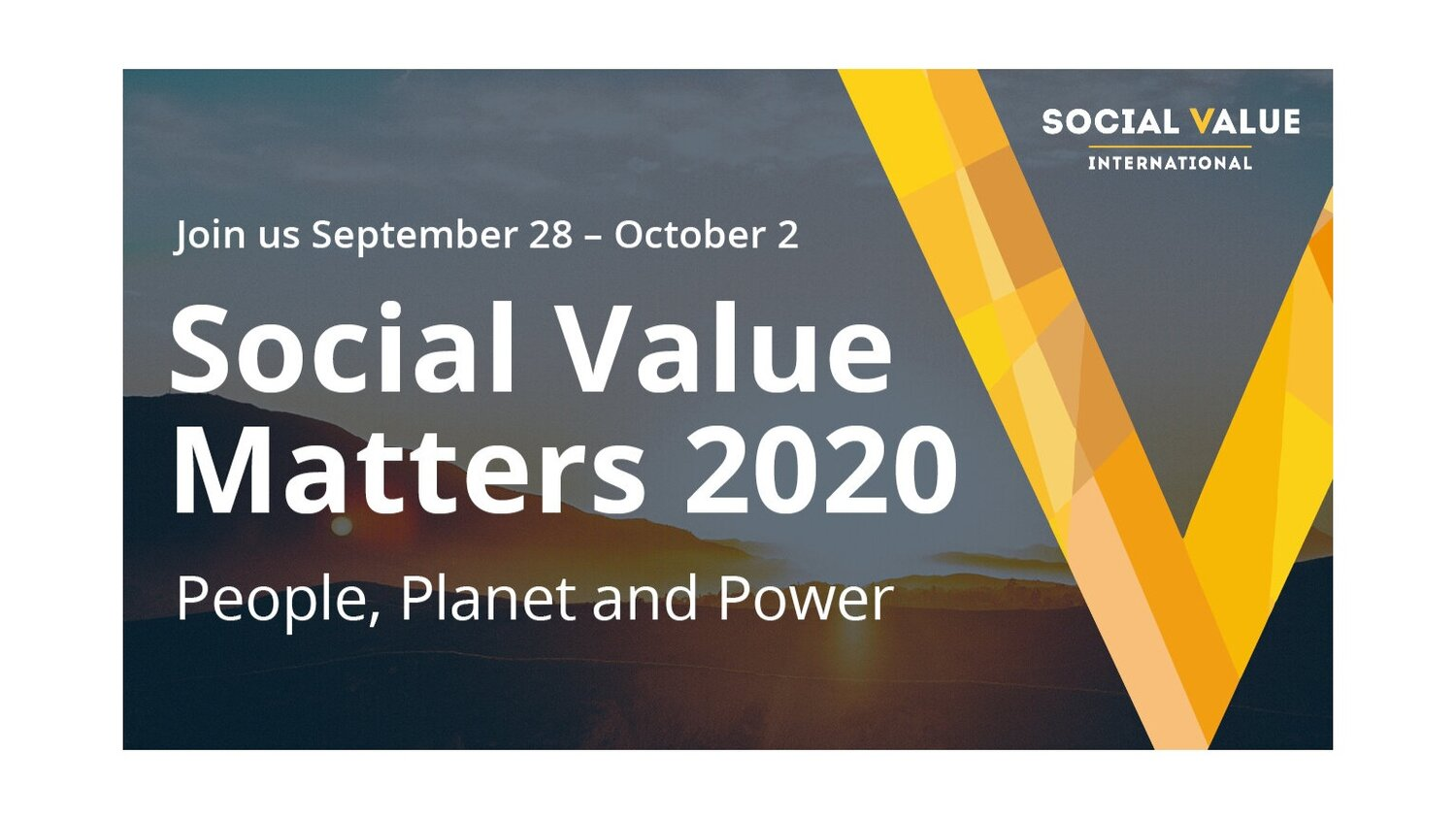 Social Value Matters 2020: People, Planet & Power